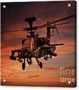 Close Air Support  Acrylic Print