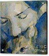 Close My Eyes Lullaby Me To Sleep Acrylic Print