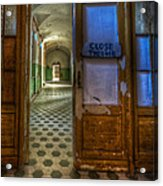 Close The Door Acrylic Print