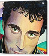 Close Up Portrait Rufus Sewell Acrylic Print