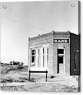 Closed Bank, 1936 Acrylic Print