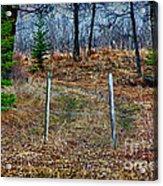 Closed Road Acrylic Print