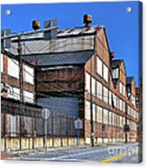 Closed Steel Mill Acrylic Print