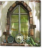 Closed Window Acrylic Print