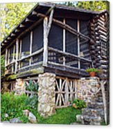 Closer View Of The Cabin Acrylic Print