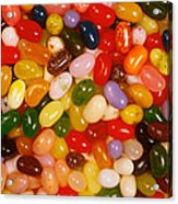 Closeup Of Assorted Jellybeans  Acrylic Print
