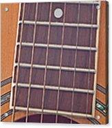 Closeup Of Guitar Art Prints Acrylic Print
