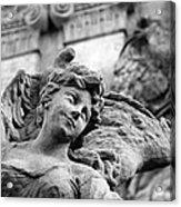 Closeup View Of The Original Baroque Sculpture Acrylic Print