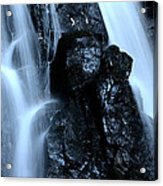 Closeup Waterfall Acrylic Print