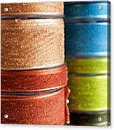 Cloth Ribbons Acrylic Print