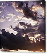 Mountain Sunset Acrylic Print