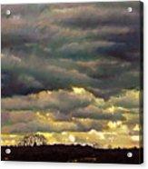 Cloud Burst Acrylic Print
