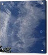 Cloud Days 130 Acrylic Print