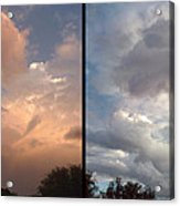 Cloud Diptych Acrylic Print