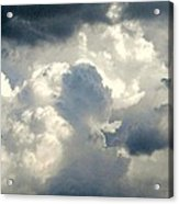 Cloud Drama Acrylic Print by Dawn Vagts