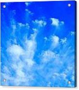 Cloud Formations I Acrylic Print