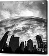 Cloud Gate Chicago Bean Acrylic Print by Paul Velgos