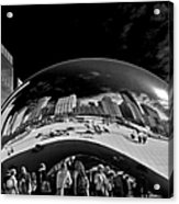 Cloud Gate Chicago - The Bean Acrylic Print by Christine Till