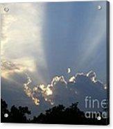 Cloud Glow Acrylic Print