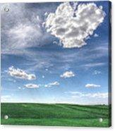 Cloud Heart Acrylic Print