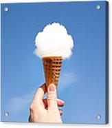 Cloud ice cream. Acrylic Print