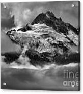 Cloud Layers Over Tantalus Acrylic Print