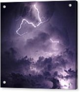 Cloud Lightning Acrylic Print
