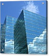 Cloud Mirror Acrylic Print