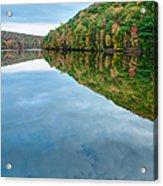 Lake - Cloud Mirror Acrylic Print