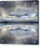 Cloud Mirror Acrylic Print