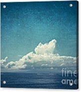 Cloud Over Island Acrylic Print