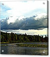 Cloud Over Lake Tomiko Acrylic Print by Dianne  Lacourciere