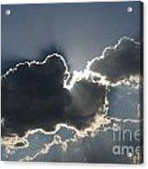Cloud Rays Acrylic Print