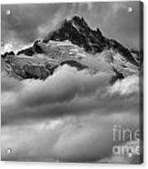 Cloud Rush Over Tantalus Acrylic Print