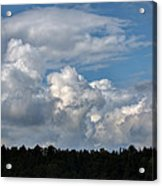 cloud scape sep 2014- Blue sky and clouds  Acrylic Print