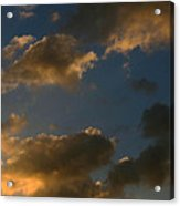 Cloud Series 34 Of Sunset  Acrylic Print