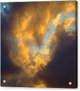 Cloud Series Ll - G Acrylic Print