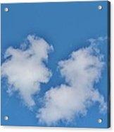 Cloud Shapes Acrylic Print