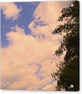 Cloud Slide Acrylic Print