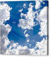 Cloud Study 3852 Acrylic Print