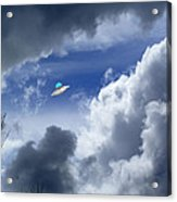 Cloud Surfing Acrylic Print