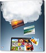 Cloud Technology Acrylic Print