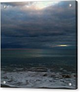 Clouded Window Acrylic Print by Amanda Holmes Tzafrir