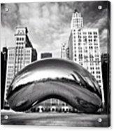 Chicago Bean Cloud Gate Photo Acrylic Print