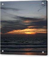 Clouds Against The Sunrise Acrylic Print