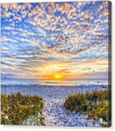 Clouds At Dawn Acrylic Print