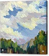 Clouds At Thousand Palms Acrylic Print