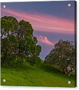 Clouds At Twilight Acrylic Print