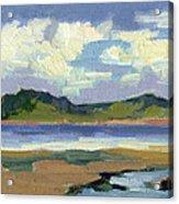Clouds At Vashon Island Acrylic Print