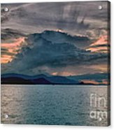 Clouds Explosion Acrylic Print